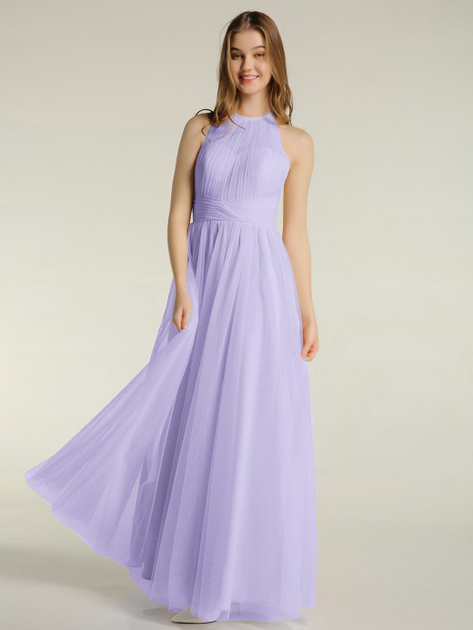 Babaroni Odelia Illusion Col Croisé Taille Tulle Robes